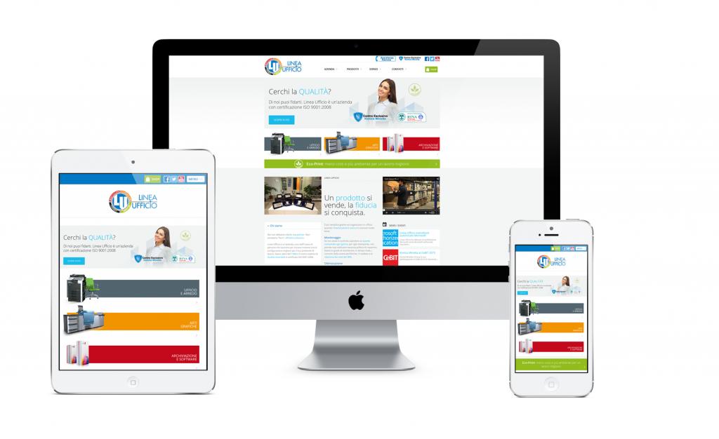 sito responsive: sito ottimizzato per pc, tablet, smartphone