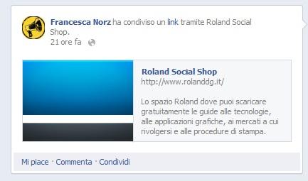 Roland Social Shop